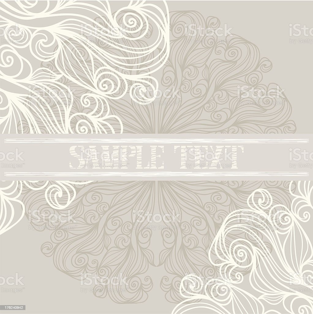 Background with lacy patterns royalty-free stock vector art