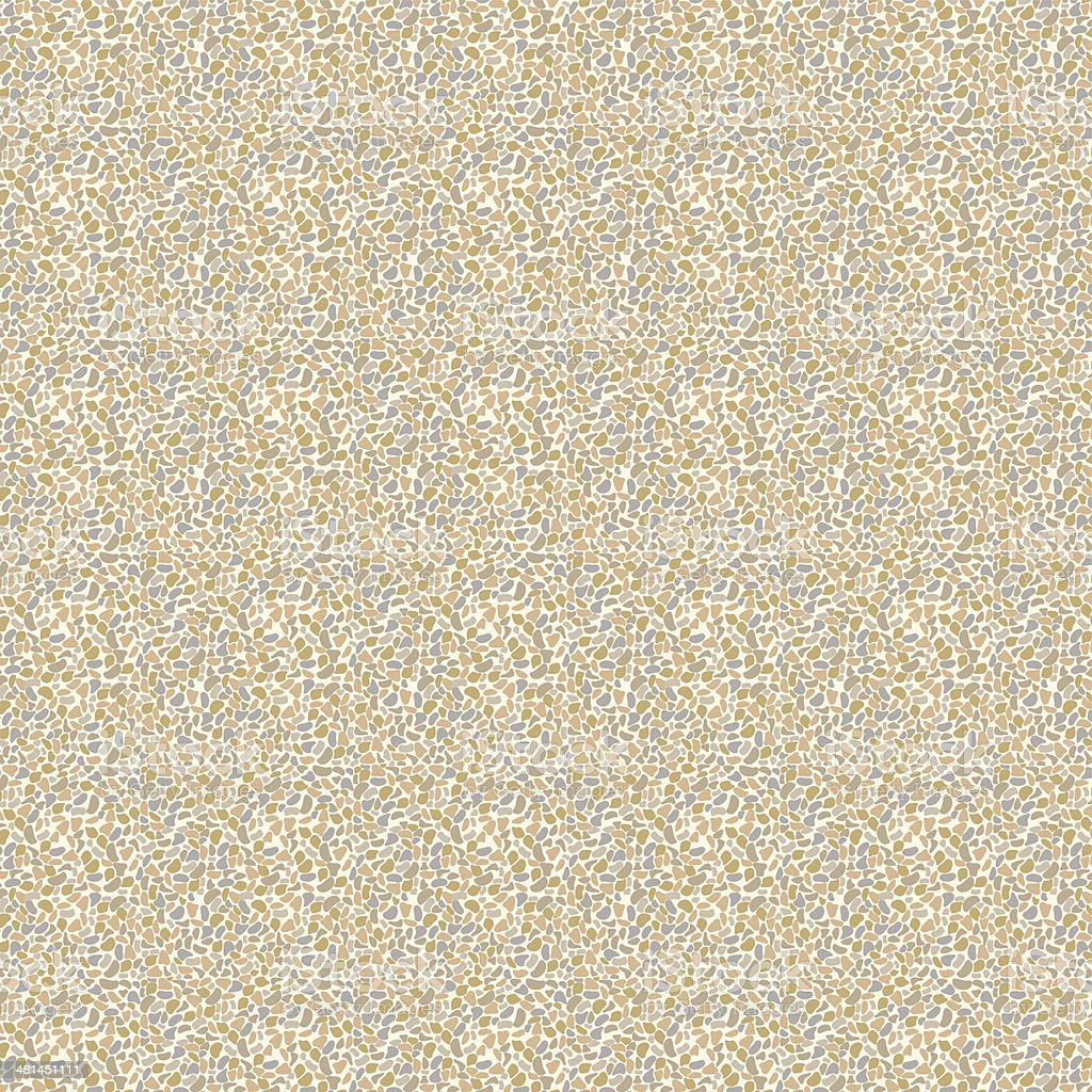Background with Pebbles in natural colors-Seamless Pattern royalty-free stock vector art