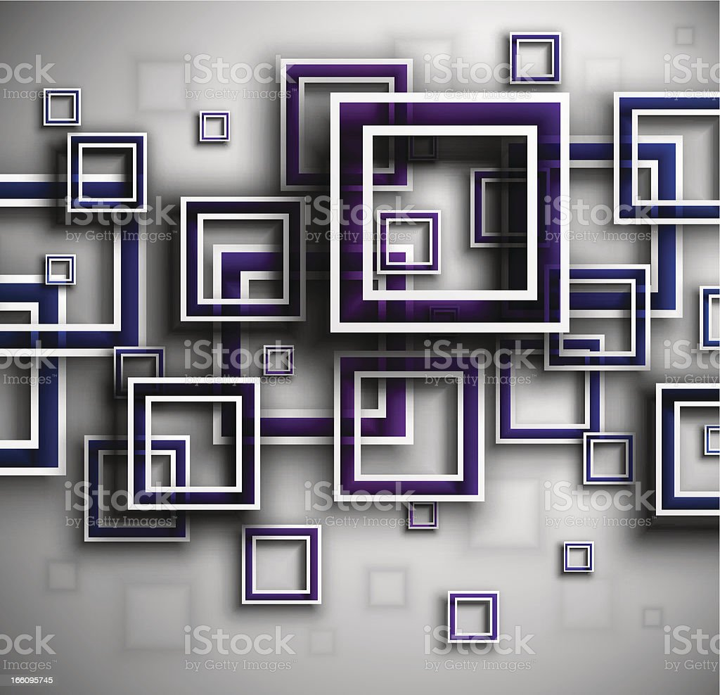 Background with squares royalty-free stock vector art