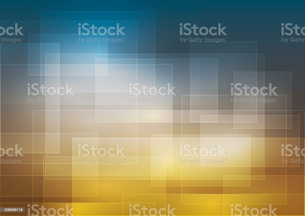 Background with transparent highlighted squares vector art illustration