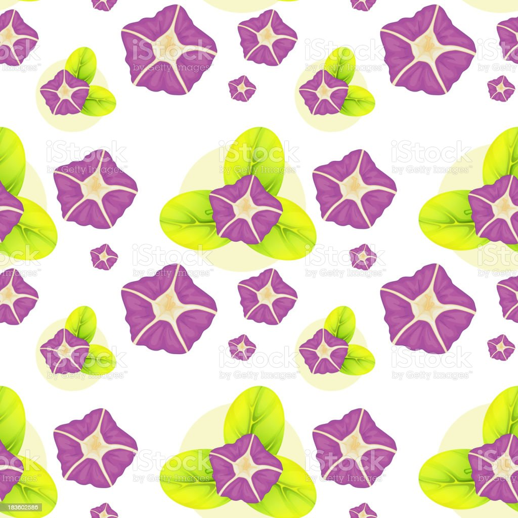background with violet flowers royalty-free stock vector art