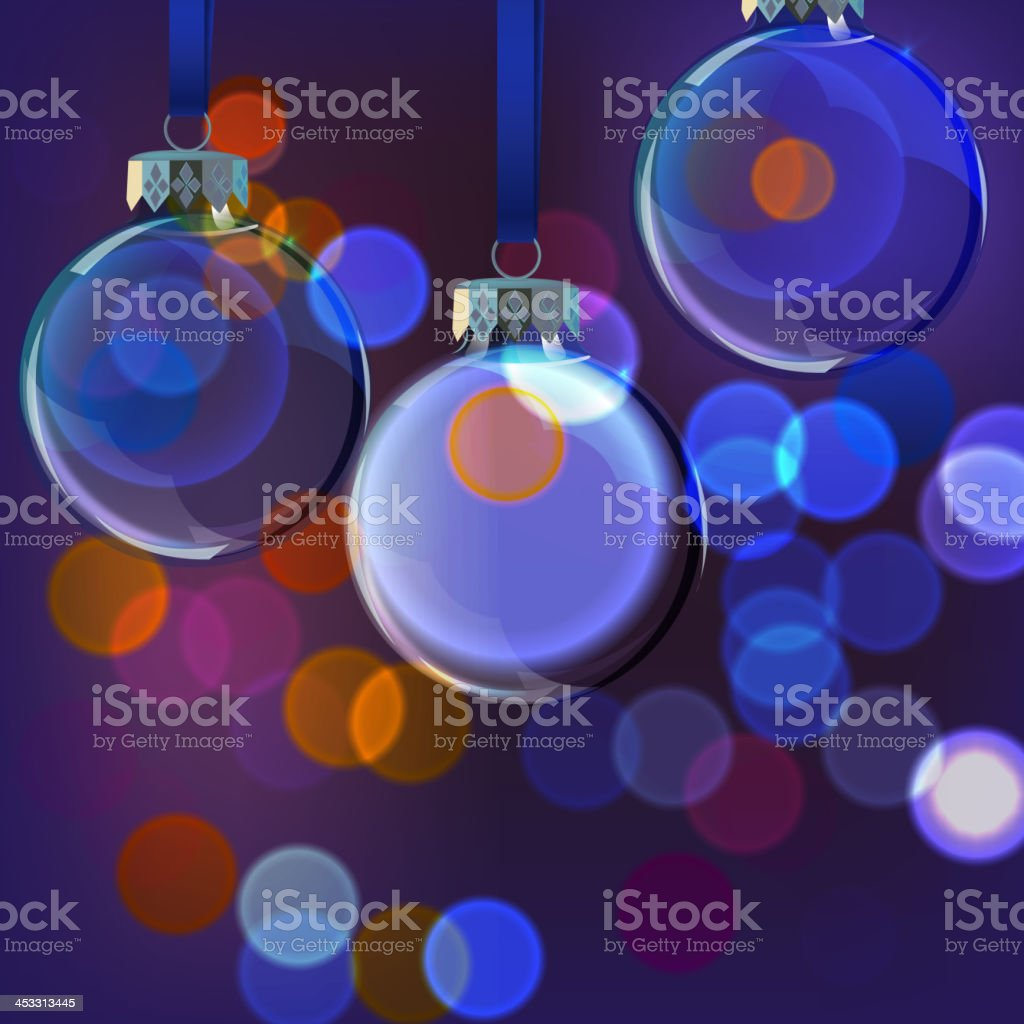 Background_Evening_Balls royalty-free stock vector art