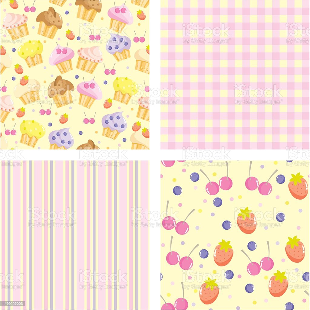 backgrounds for scrapbook royalty-free stock vector art