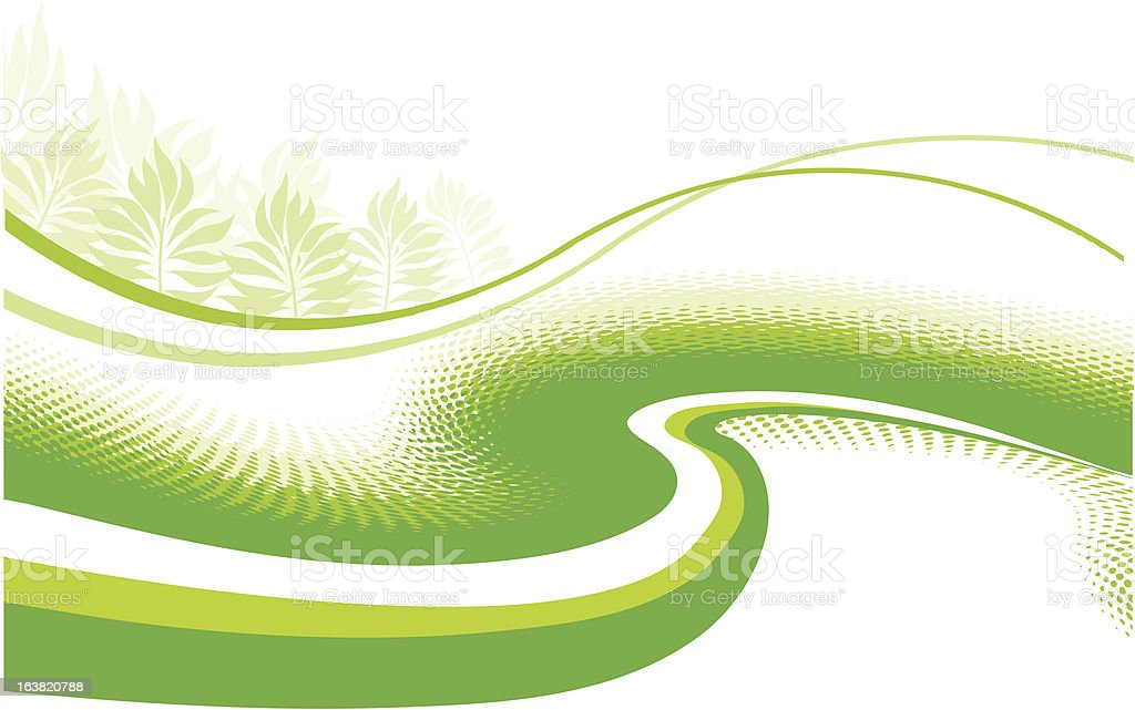 backgrounds green royalty-free stock vector art