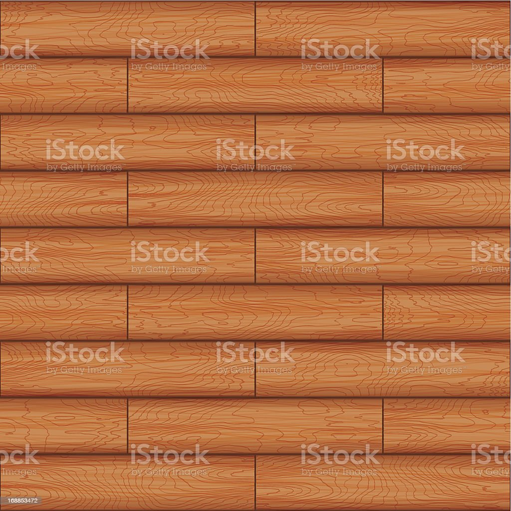 background[Wood panel] vector art illustration