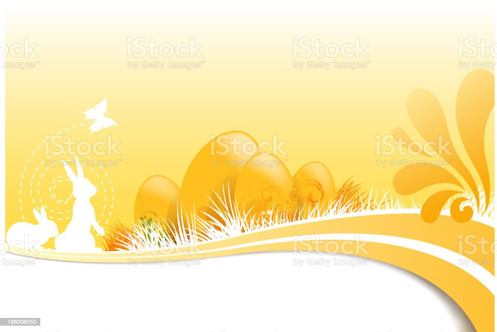 backround of easter royalty-free stock vector art