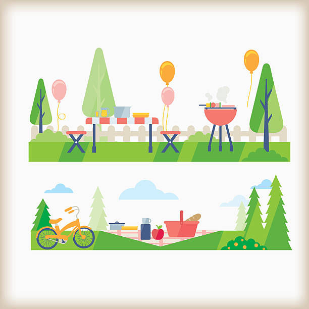 Picnic Clip Art, Vector Images & Illustrations - iStock