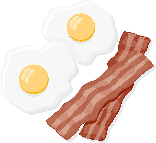 Bacon Clip Art, Vector Images & Illustrations - iStock