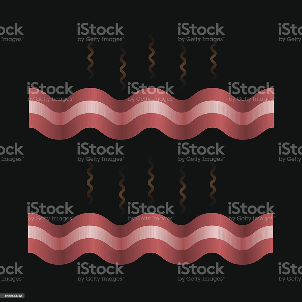 Bacon Strips royalty-free stock vector art