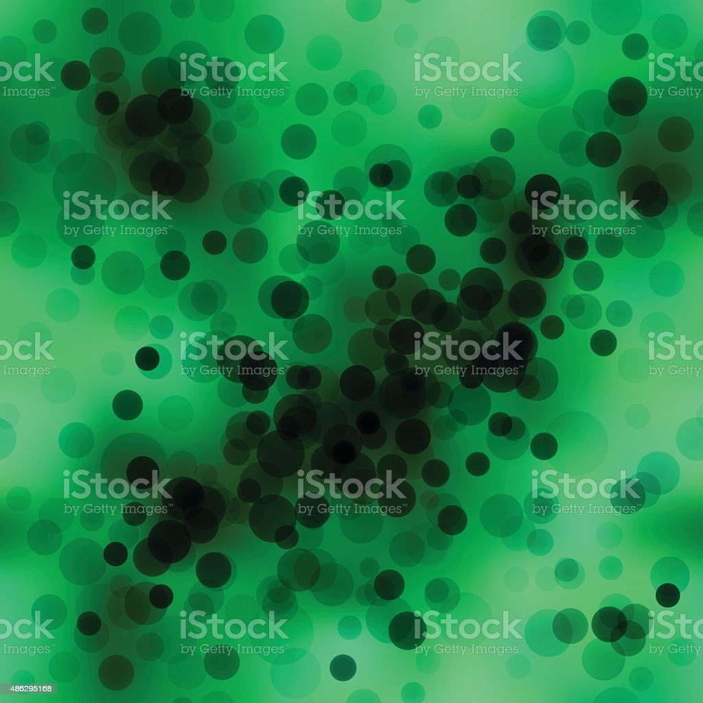 Bacteria, Seamless vector art illustration