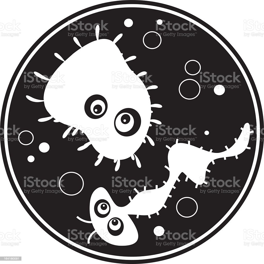 bacteria royalty-free stock vector art