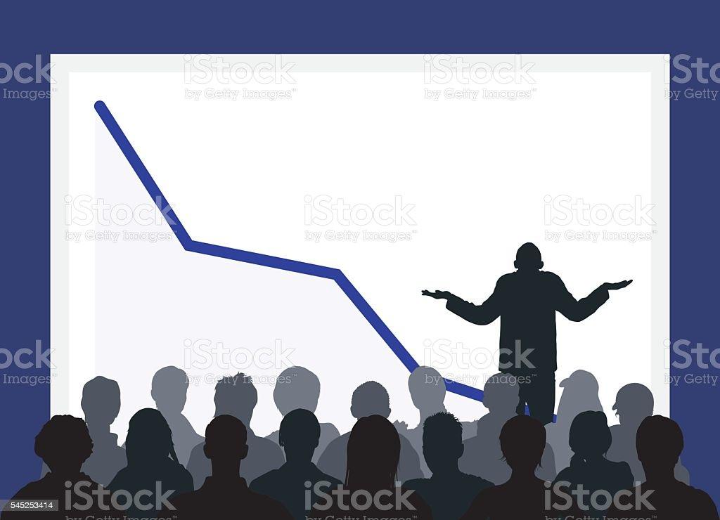 Bad News vector art illustration