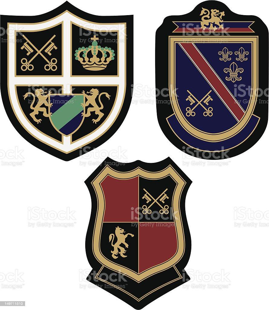 Illustrazione di badge illustrazione royalty-free