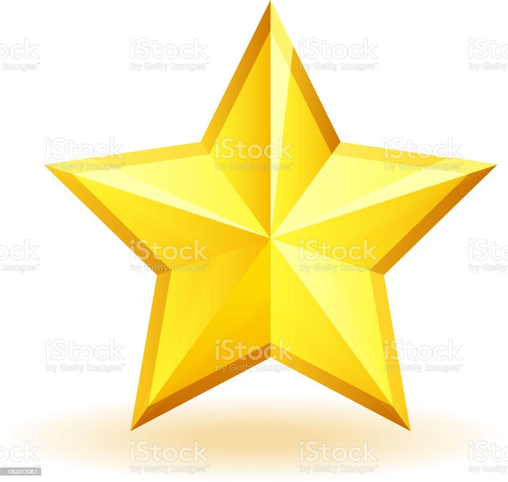 Badge Star royalty-free stock vector art