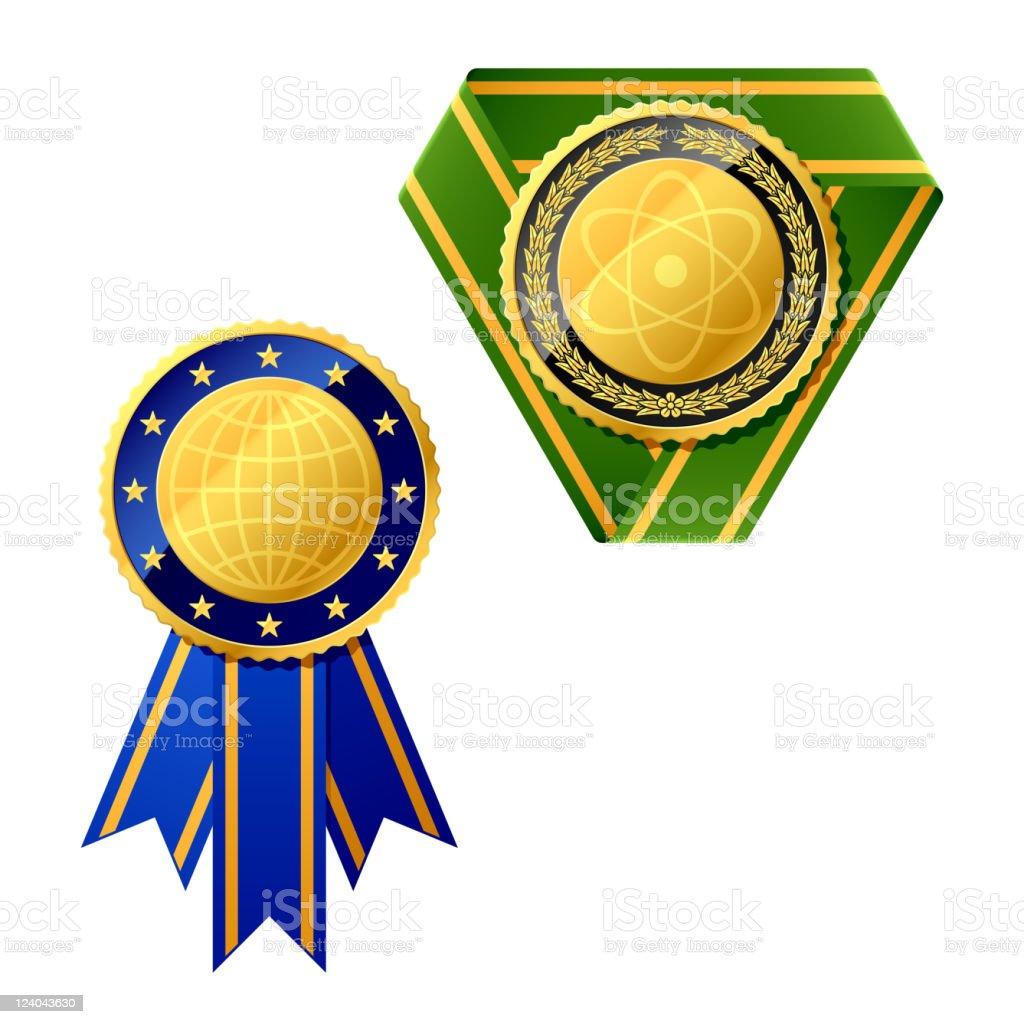 Badges royalty-free stock vector art