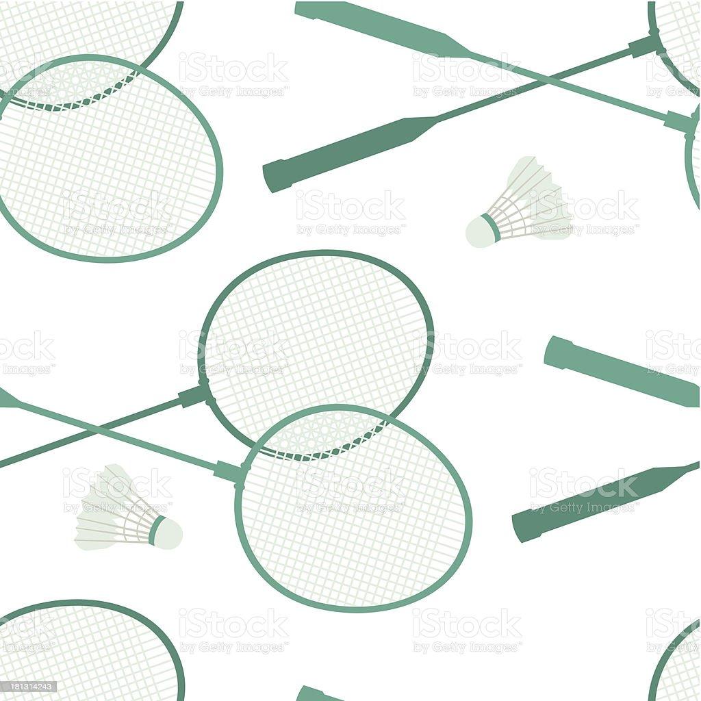 Badminton background royalty-free stock vector art
