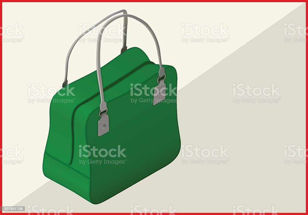 bag isometric flat vector 3d vector art illustration