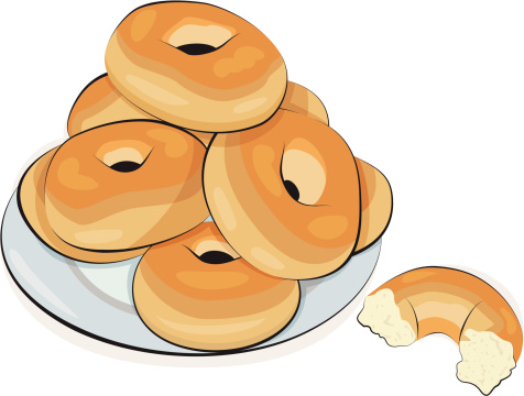 Clip Art Bagel Clipart coffee and bagel clipart 40524 upstore clipart
