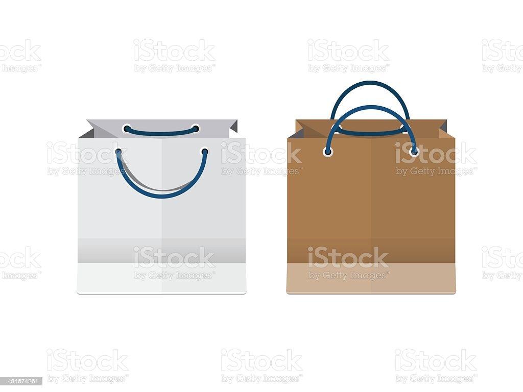 Bags - vector illustration royalty-free stock vector art