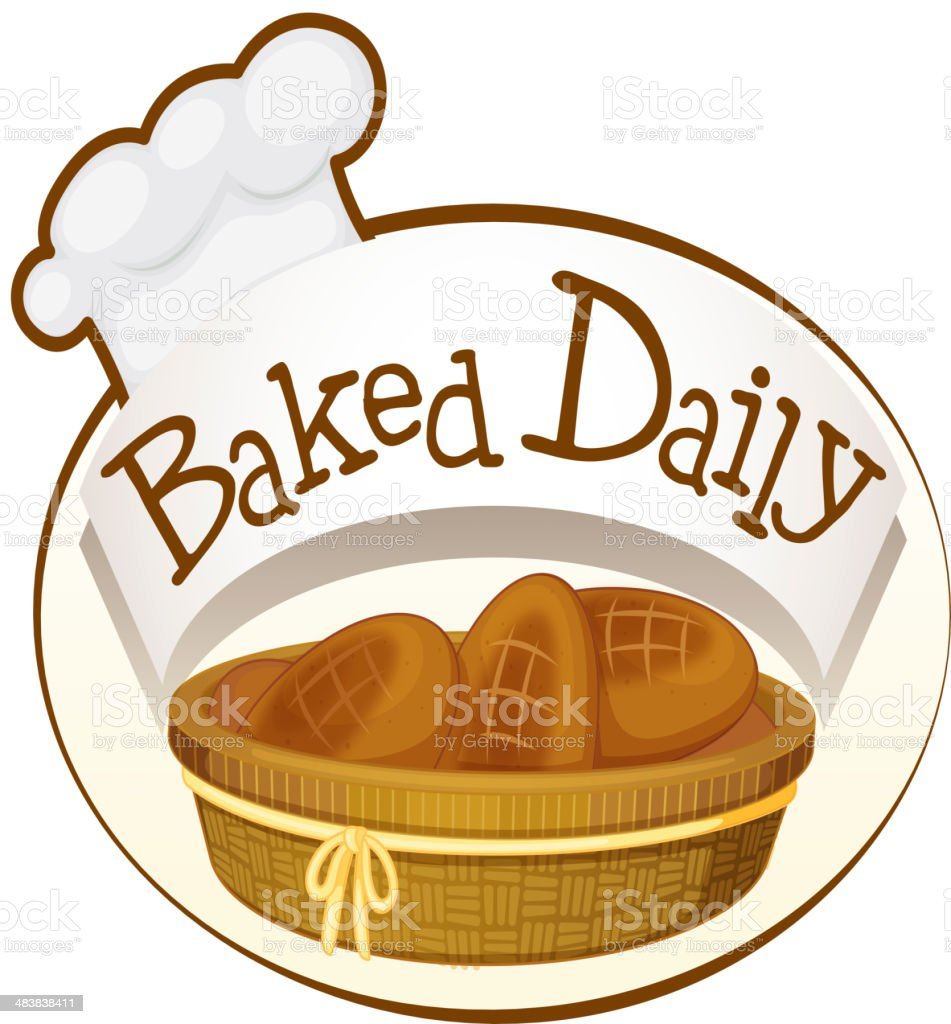 bakery label royalty-free stock vector art
