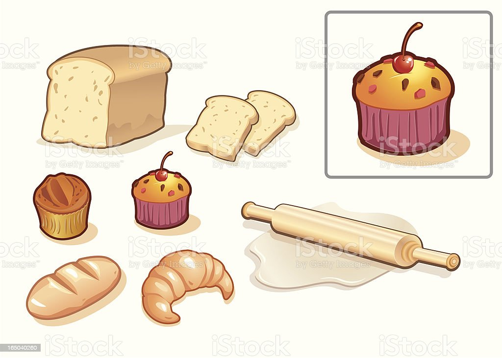 bakery shop royalty-free stock vector art
