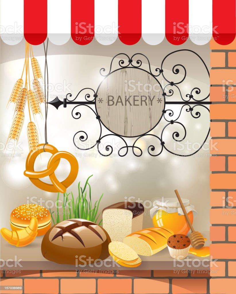 Bakery store royalty-free stock vector art