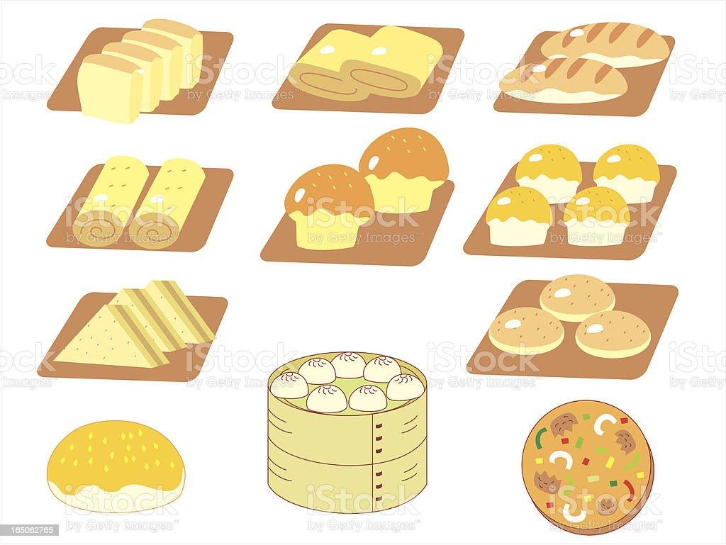 Bakery royalty-free stock vector art