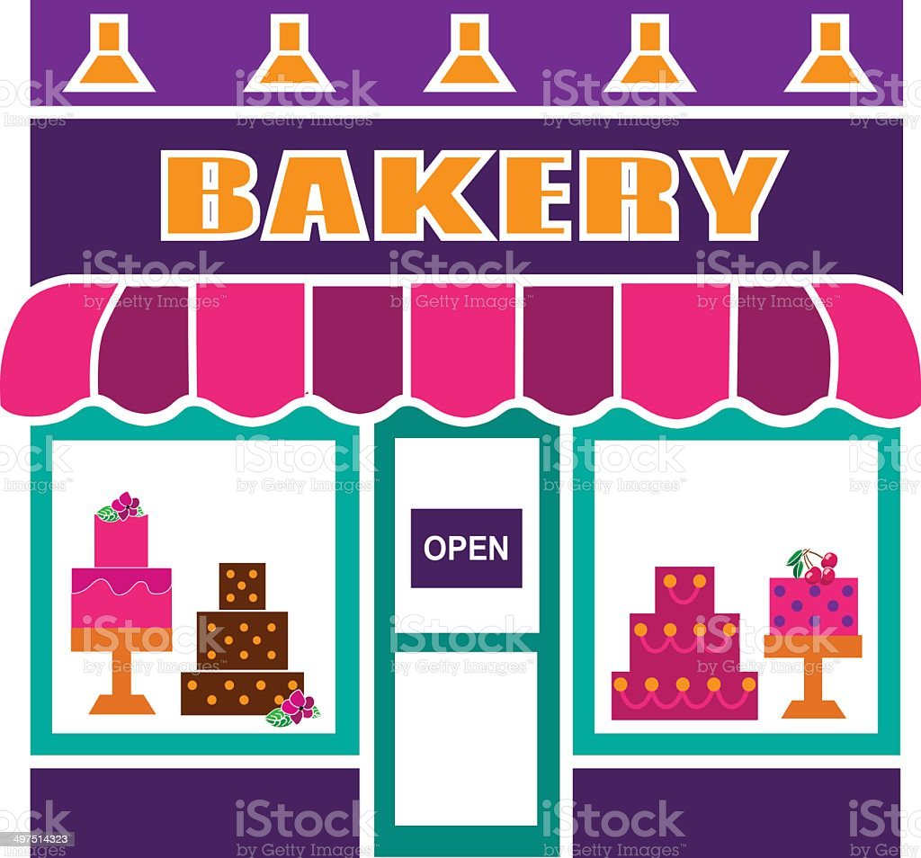 bakery royalty-free stock vector art