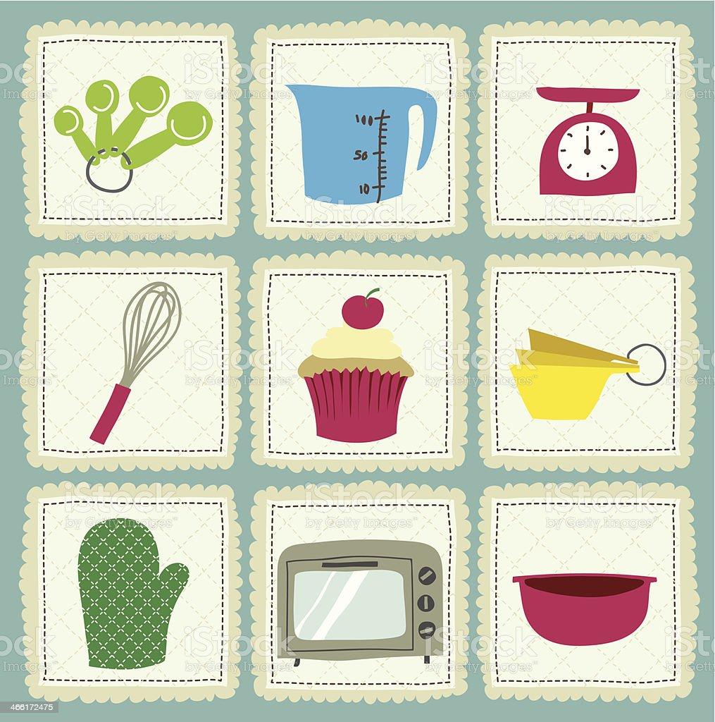 baking vector art illustration