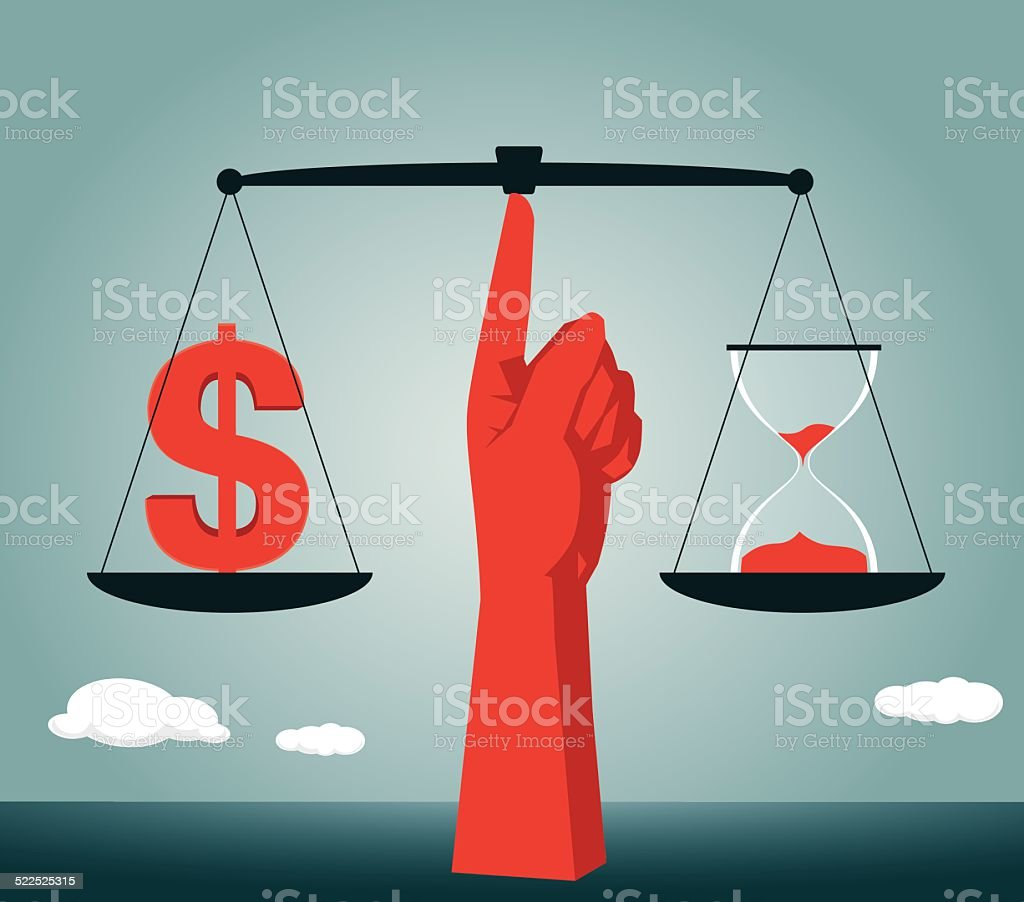 Balance, Equality,Moral Dilemma,Scales of Justice, Justice vector art illustration