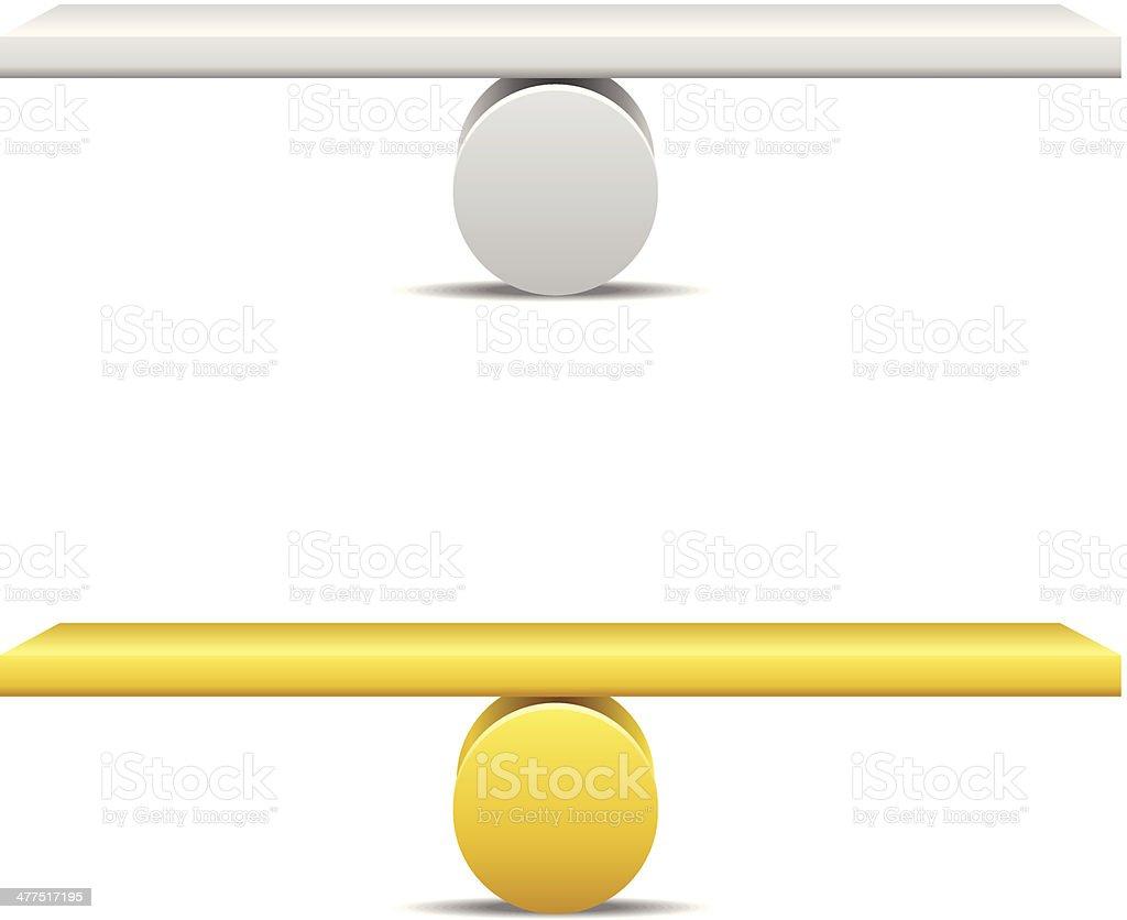 Balance royalty-free stock vector art