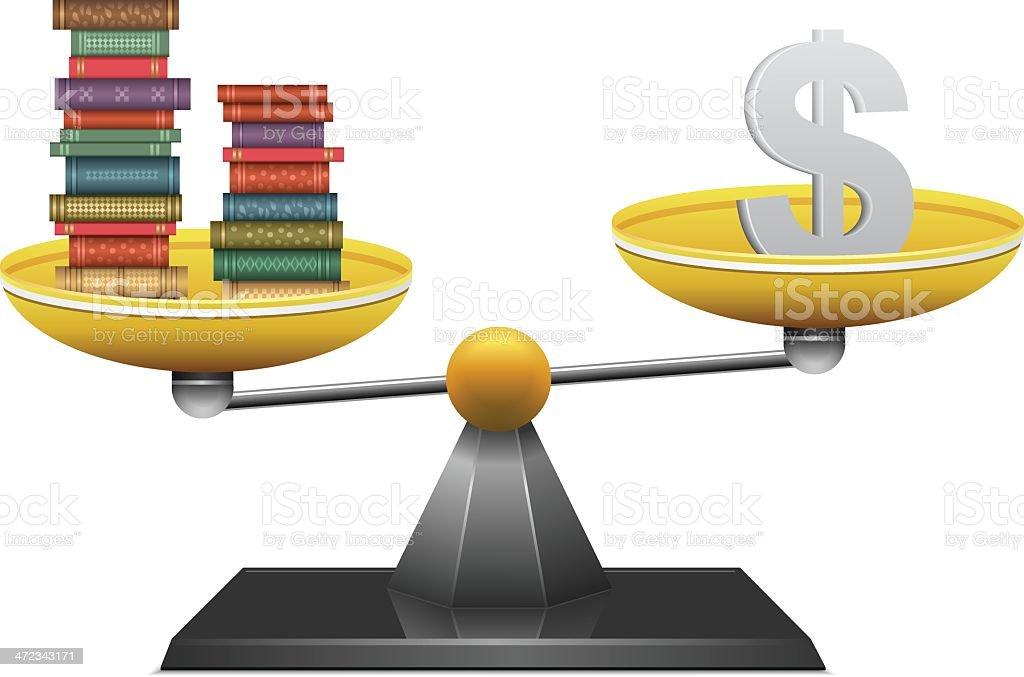 Balancing royalty-free stock vector art