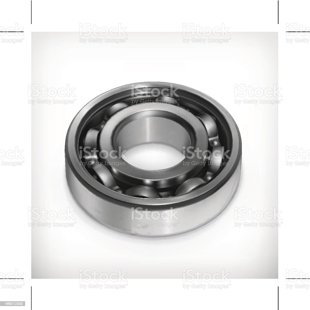 Ball bearing royalty-free stock vector art