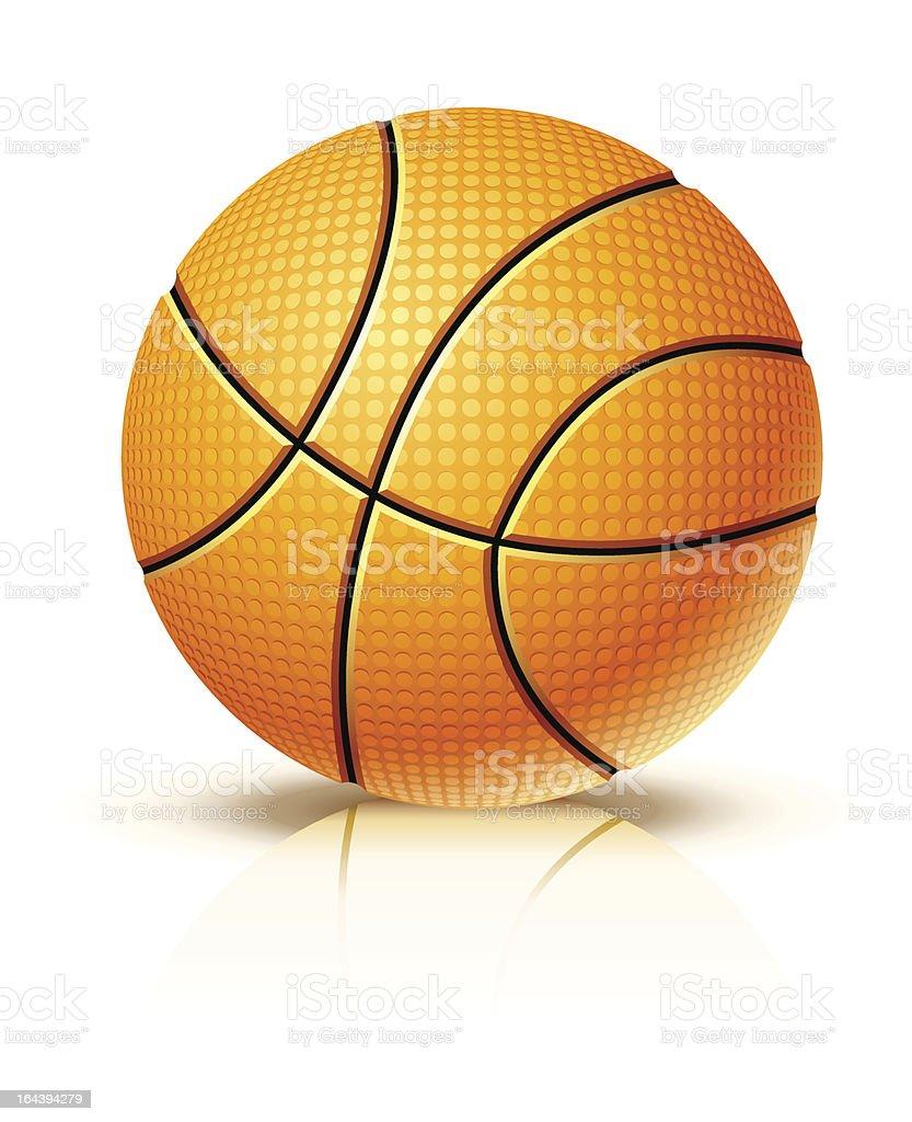 ball for playing basketball game royalty-free stock vector art