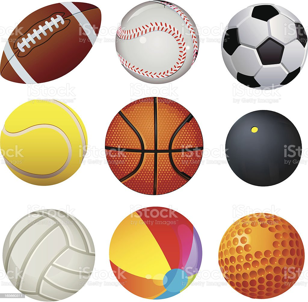 Ball vector art illustration