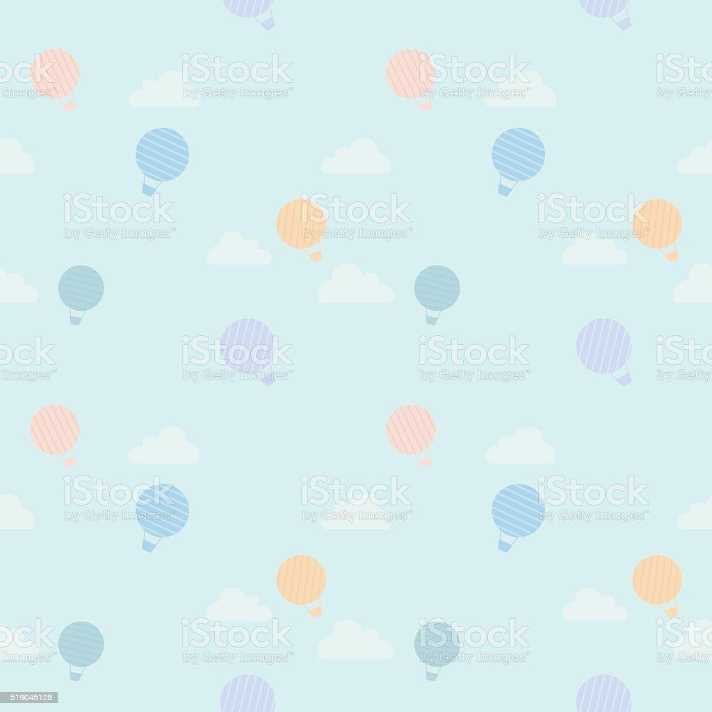 Balloon pattern vector art illustration
