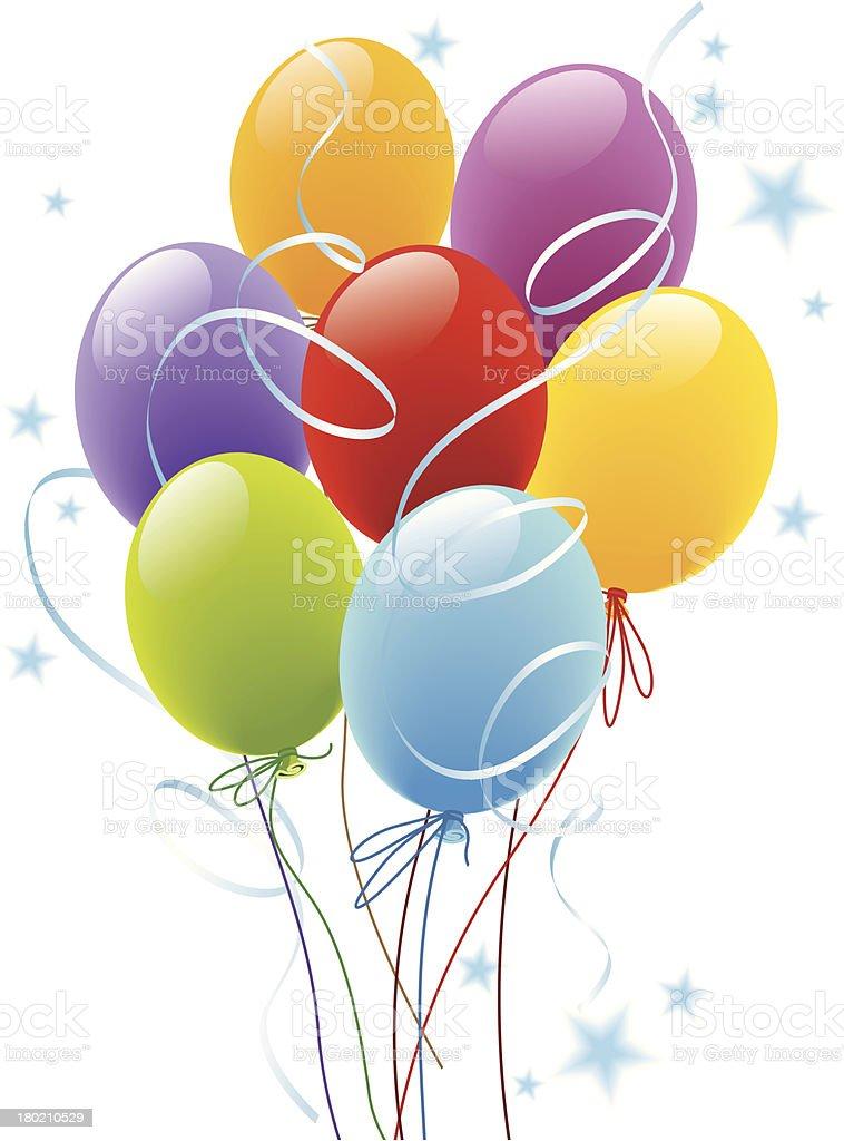 Balloons royalty-free stock vector art