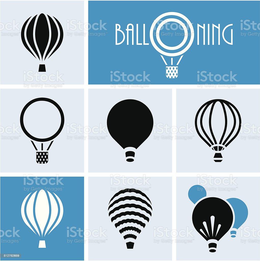 Balloons. vector art illustration