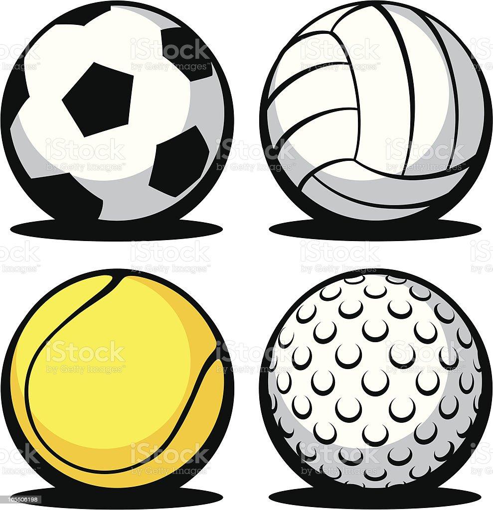 balls royalty-free stock vector art