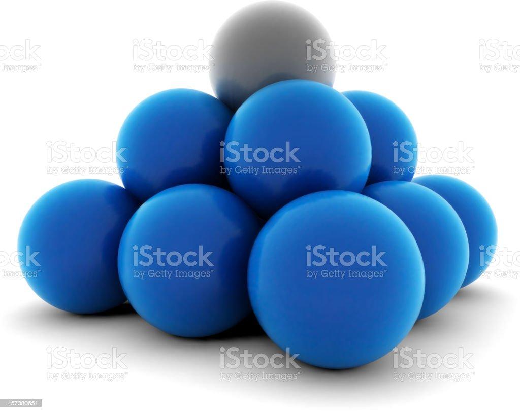 Balls vector art illustration