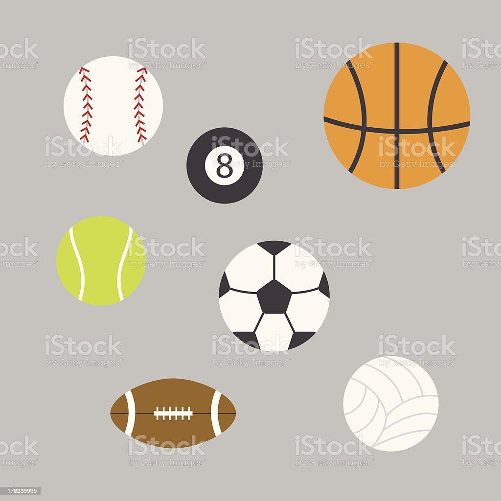 Balls Vector Illustration royalty-free stock vector art