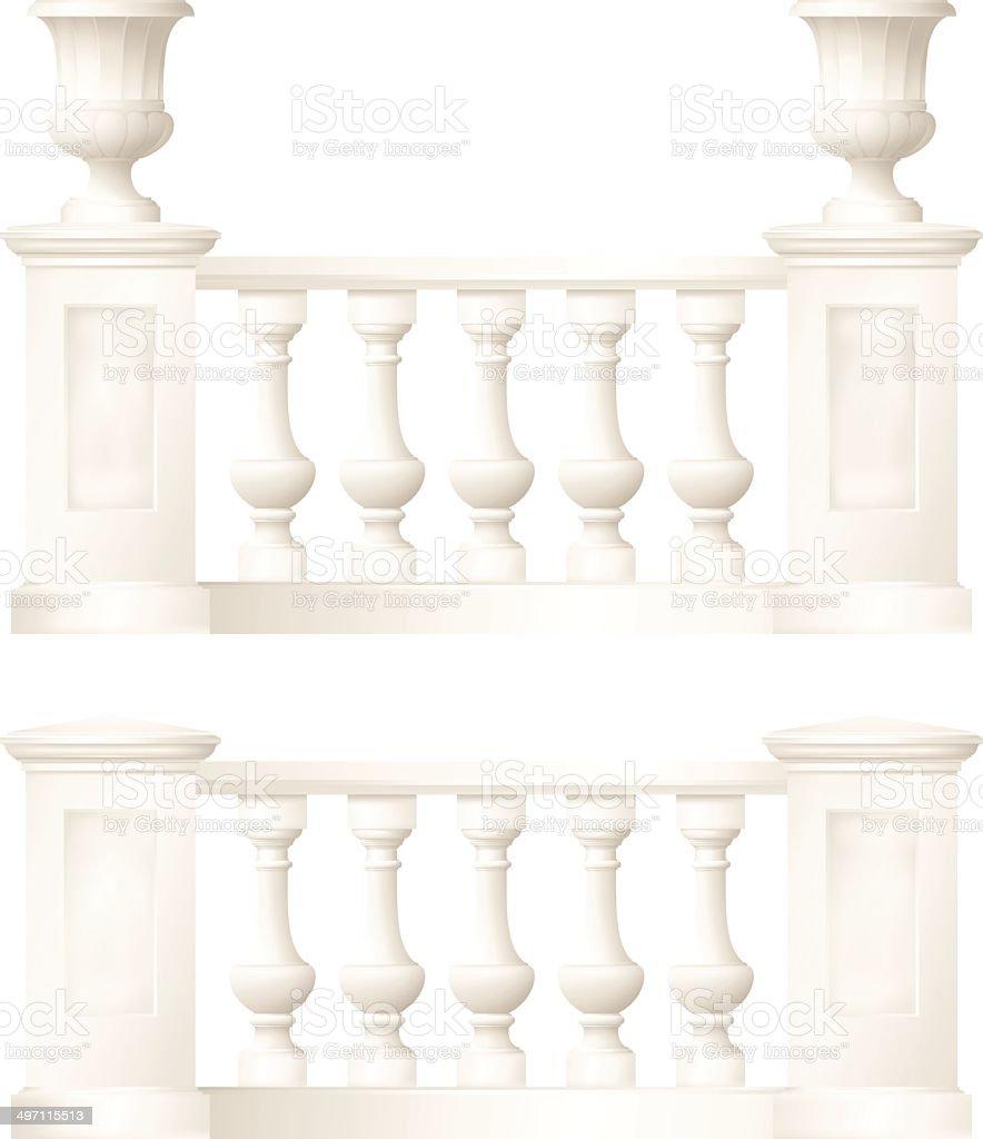 balustrade royalty-free stock vector art