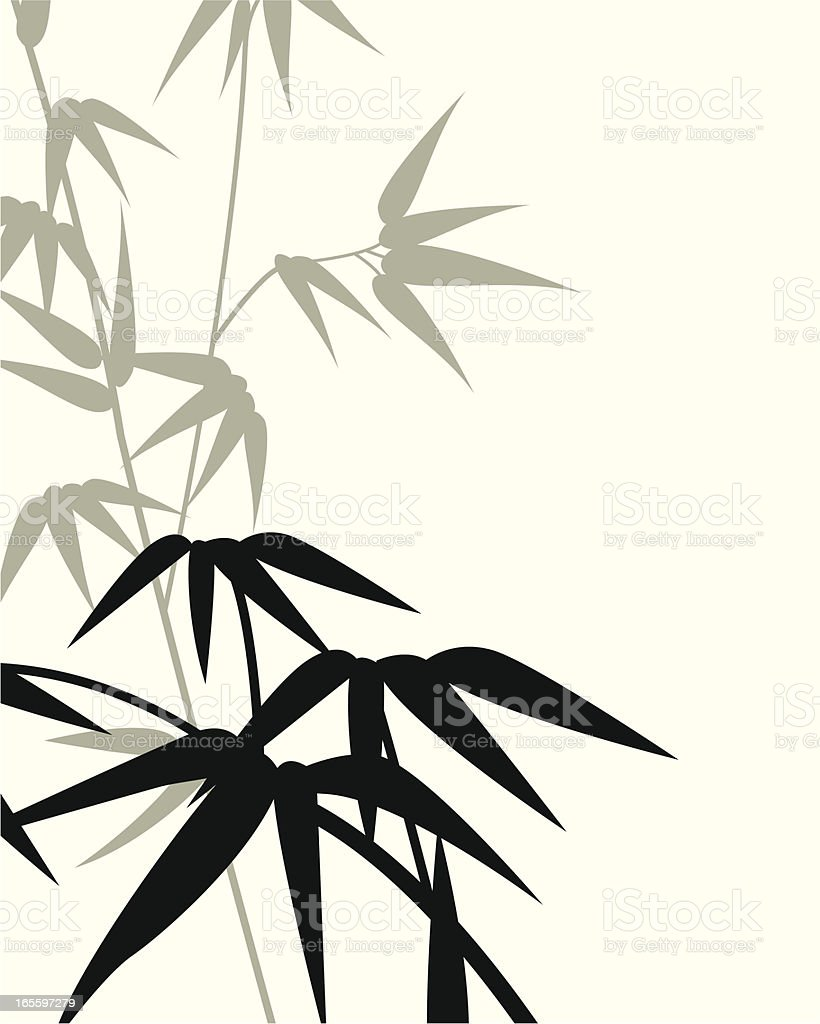 Bamboo Background royalty-free stock vector art