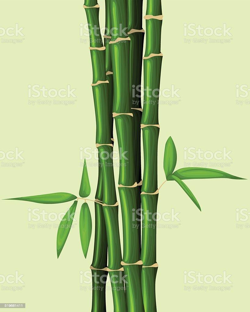 Fond de bambou stock vecteur libres de droits libre de droits