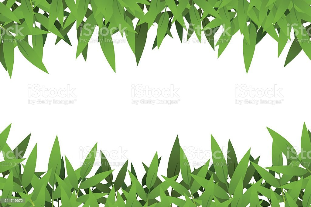 Bamboo leaf royalty-free stock vector art