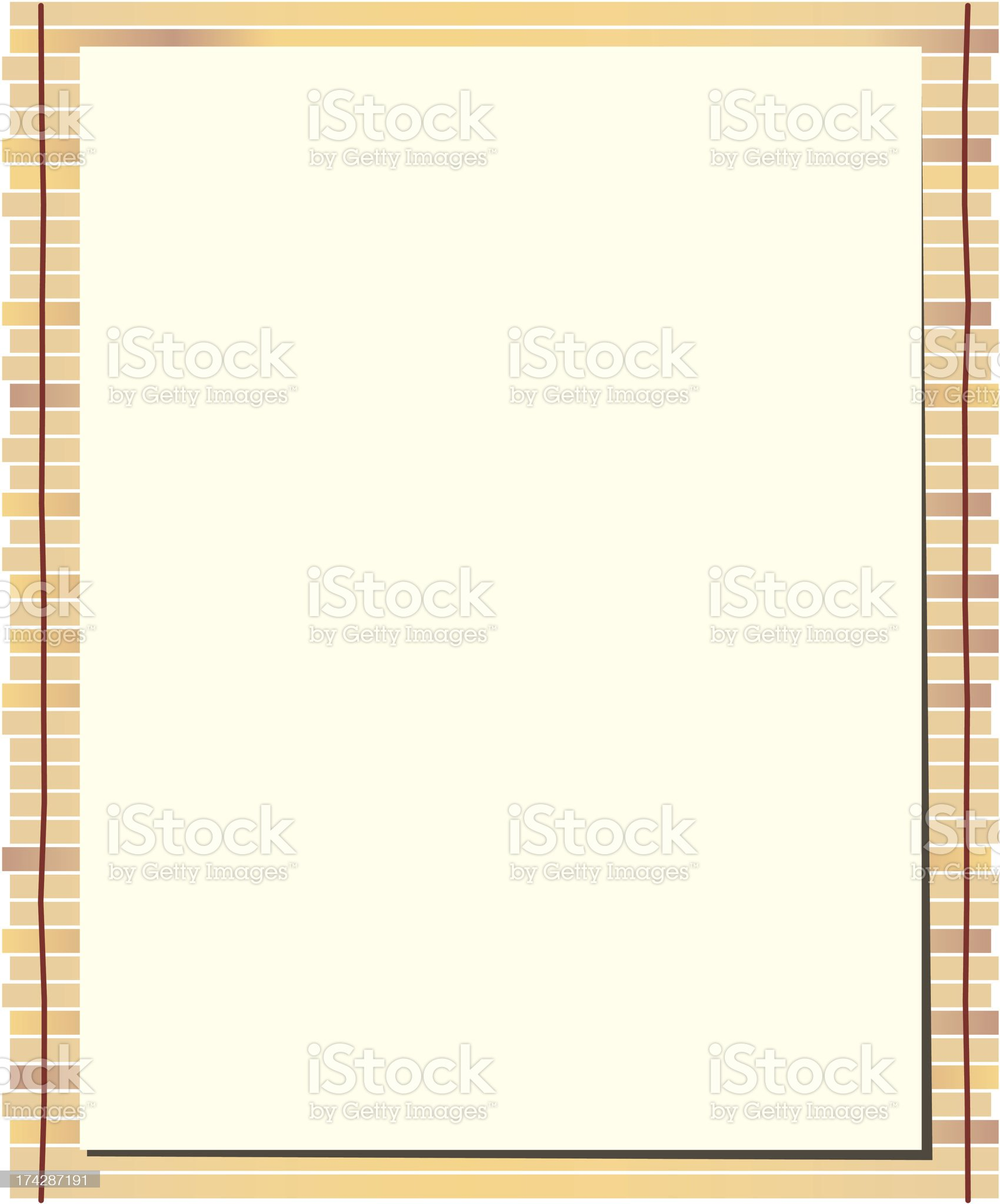 Bamboo mat background Vector royalty-free stock vector art