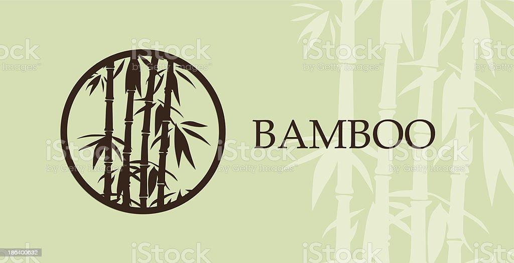 Bamboo Paintings vector art illustration
