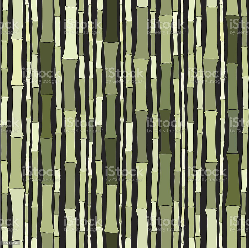 bamboo pattern royalty-free stock vector art