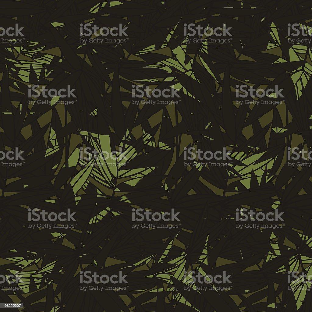 Bamboo Shadows Seamless Pattern royalty-free stock vector art