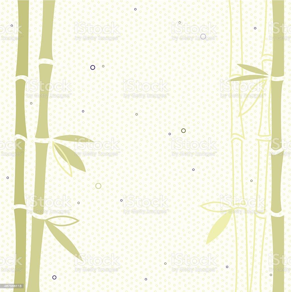 Bamboo vector background vector art illustration